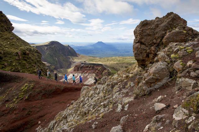Hike Mount Tarawera with Kaitiaki