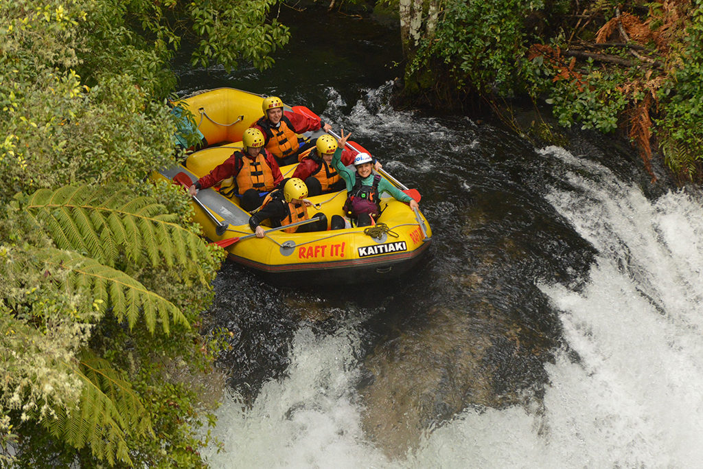 best places in the world for rafting kaitnua